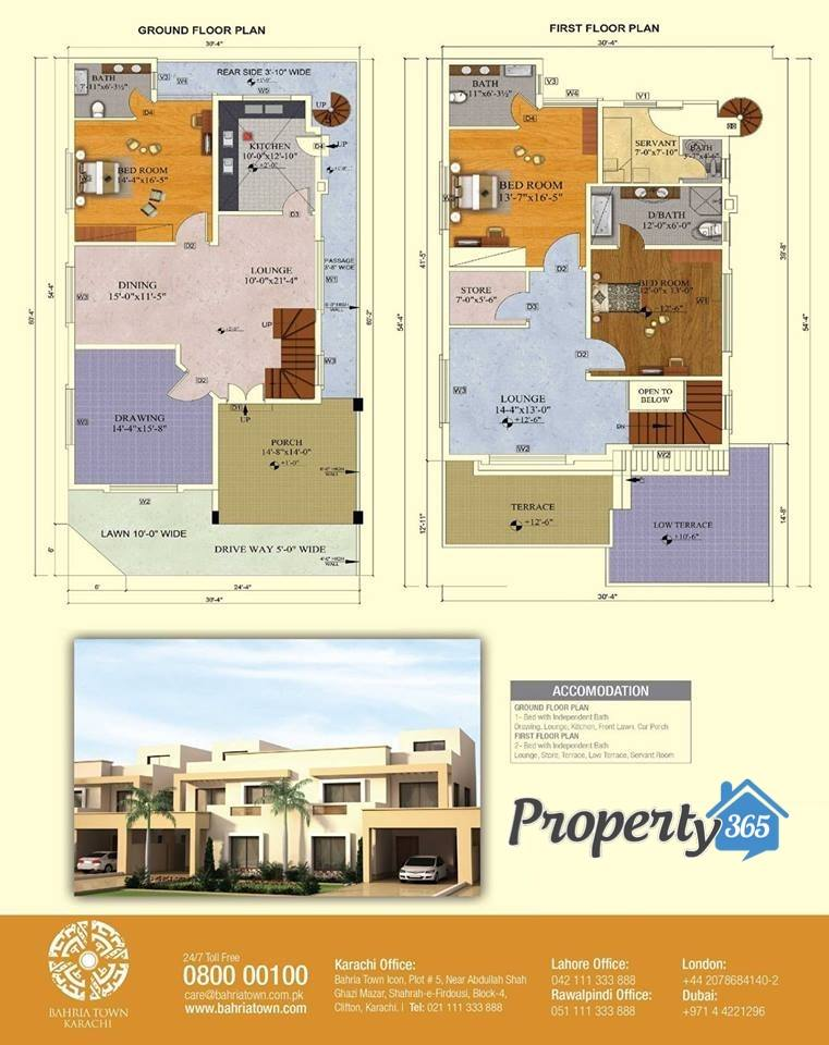 Floor plan of 200 square yards bahria homes bahria town 200 yards house design