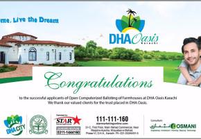 DHA-OASIS-Karachi-Ballot-Result