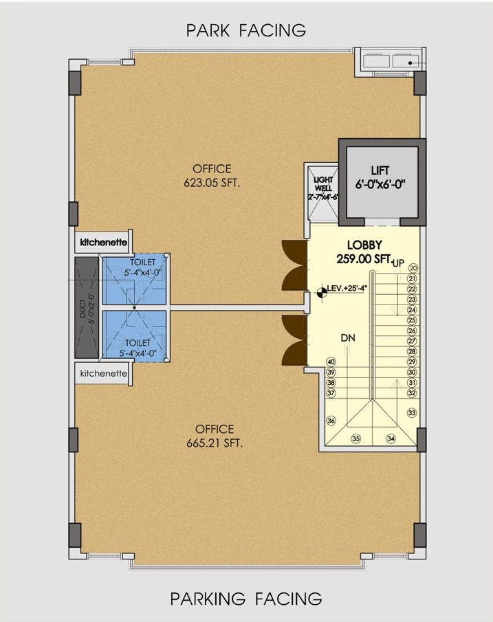 MIDWAY-COMMERCIAL-BOOKING-2ND-TO-5TH-FLOOR-PLAN