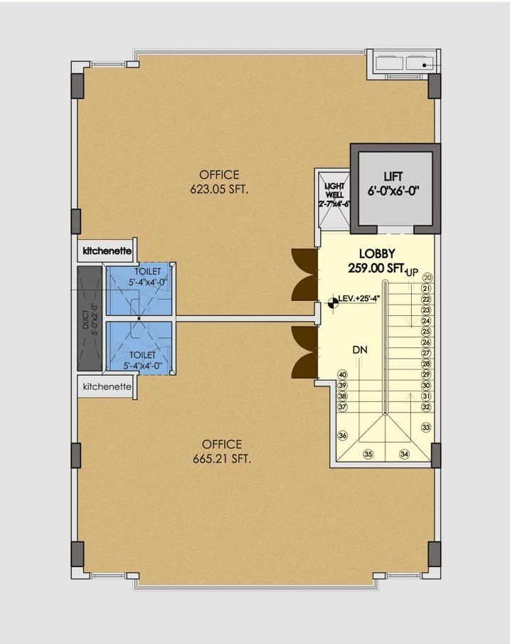 MIDWAY-COMMERCIAL-BOOKING-2ND-TO-5TH-FLOOR-PLAN 143